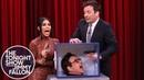 Jimmy and Kim Kardashian West Freak Out Touching Mystery Objects