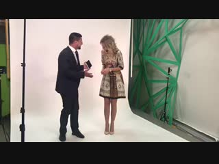 Таша Белая на съёмках программы «Еда живая и мёртвая».