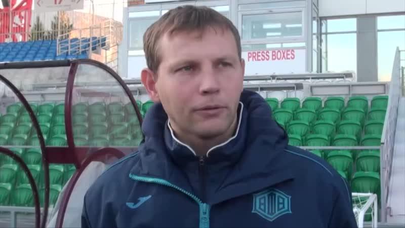Сергей Томаров: Нас должно прорвать. Надеемся, что в ближайшем матче