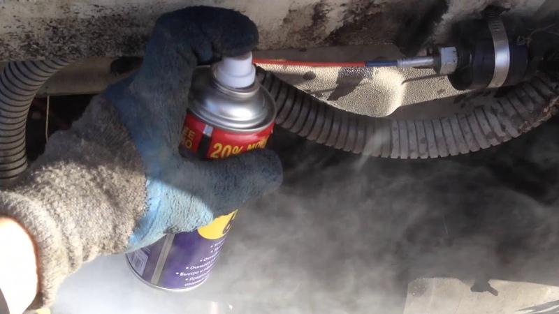 Запуск автономки чистка сухой фен эбешпехер