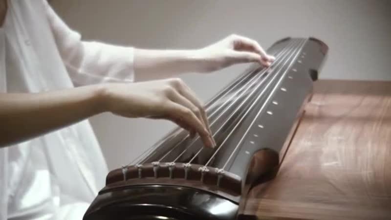 古琴 - 左手指月 GuQin(Chinese traditional instrument)