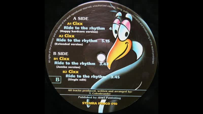 [2][176.85 A] cixx ★ ride to the rythm ★ extended version