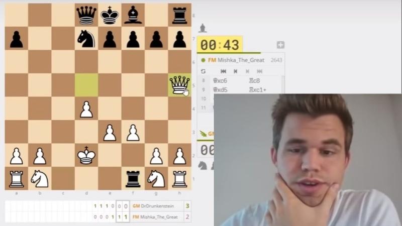 Magnus Carlsen VS Mishka_The_Great