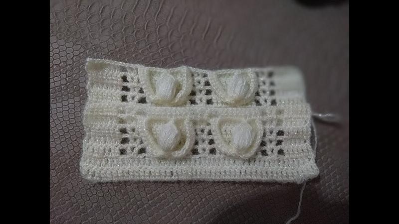 TIĞ İŞİ FISTIKLI GELİN YELEĞİ YAPIMICrochet Pistachio Bridal Vest making