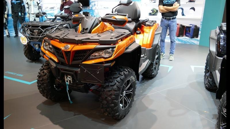 5 New 2019 ATV CFMoto CForces Bonus 2019 Qooder Steinback