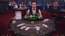 Живой БлэкДжек с веселым дилером по имени Эдик на Покерстарс!Live dealer BlackJack on PokerStars