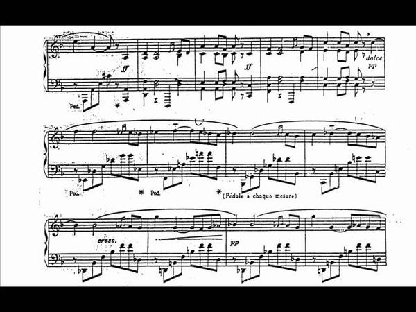 Casella - Pavane for Piano