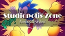 Studiopolis Present A Sonic CD styled cover