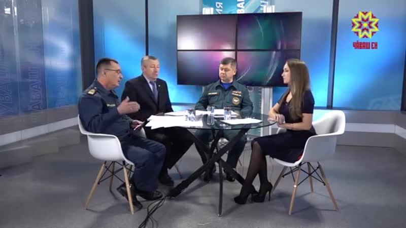 Телепередача Круглый стол на Национальном телевидении Чувашии