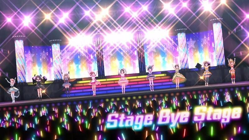 「デレステ」Stage Bye Stage (Game ver.) 歌曲演出編成 SSR