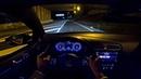 VW Golf R MK7.5 2.0 TSI 310HP Akrapovic NIGHT DRIVE POV by AutoTopNL