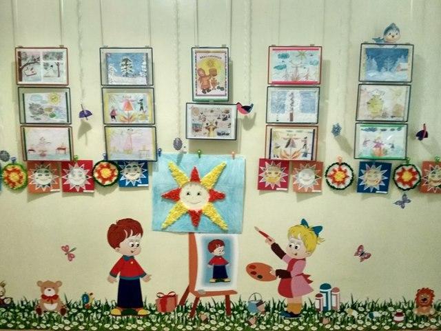 В досуговом центре на Дмитровском шоссе открылась выставка детского творчества