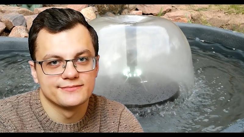 Как смонтировать пруд? Обзор насосов для фонтана