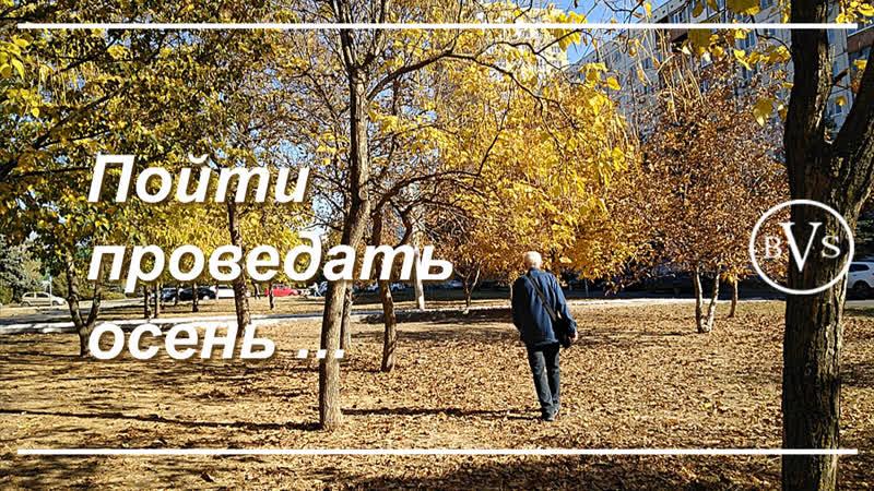 Провожаю осень