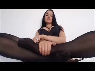 Miss tiffany - you only cum for feet