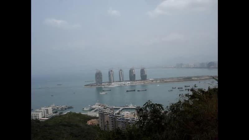 Самая высокая точка города Санья (Китай)