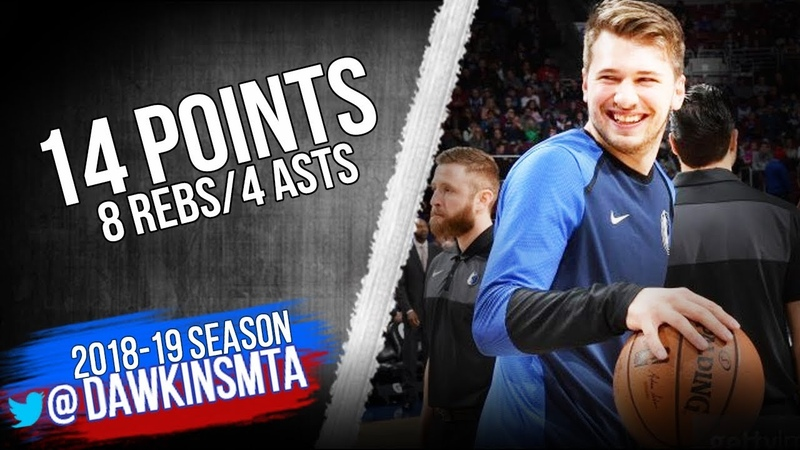 Luka Doncic Full Highlights 2019.01.05 Mavs vs 76ers - 14 Pts, 8 Rebs, 4 Asts   FreeDawkins