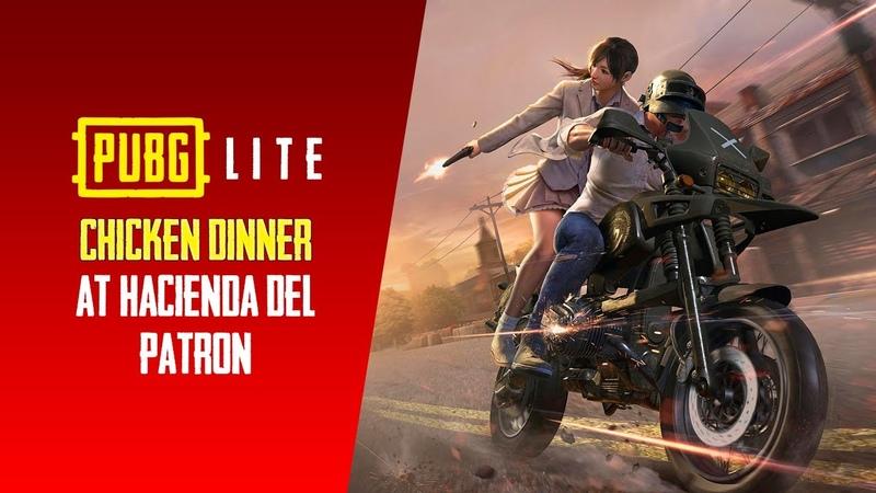 Chicken Dinner at Hacienda Del Patron 🐔🐔  Player Unknown Battlegrounds Lite (PUBg Lite) 1080p