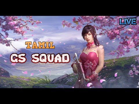 Pubg Mobile Live Tamil FUN GAMEPLAY BY NOOBS TEAM GS CUSTOM ROOMS @ 6 00 PM