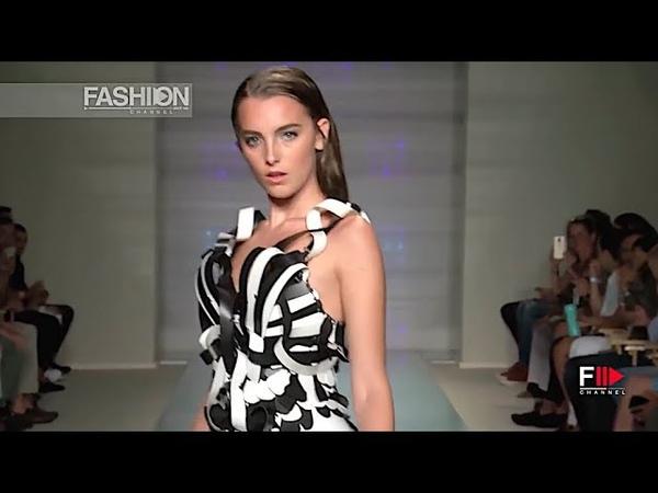 ROCKY GATHERCOLE ART HEARTS FASHION BEACH RESORT @ Miami Swim Week Fashion Channel
