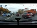 Последствия ДТП на Ленинградском шоссе перед перекрёстком с Пятницком шоссе 10.10.18