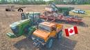 Seeding Canada 2018 | Heupel Farm | John Deere 9560RT Sunflower 9930 | Quadtrac | Fendt | Unimog