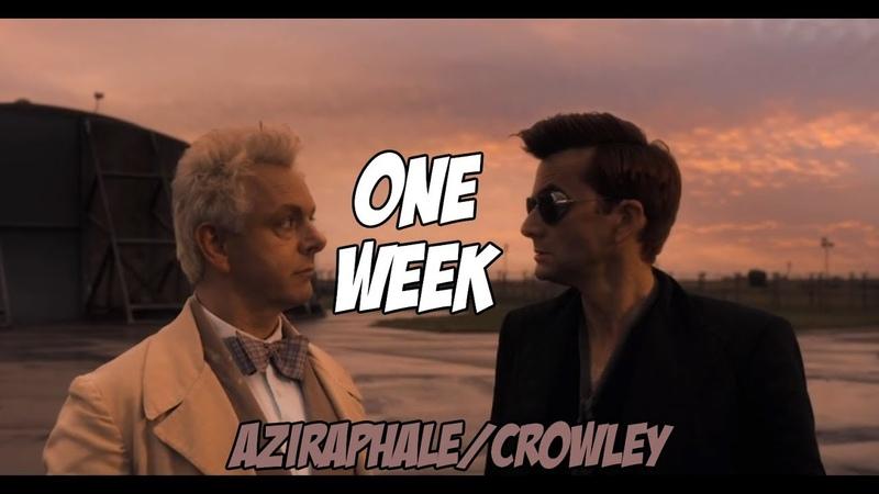 AziraphaleCrowley (Good Omens) - One Week
