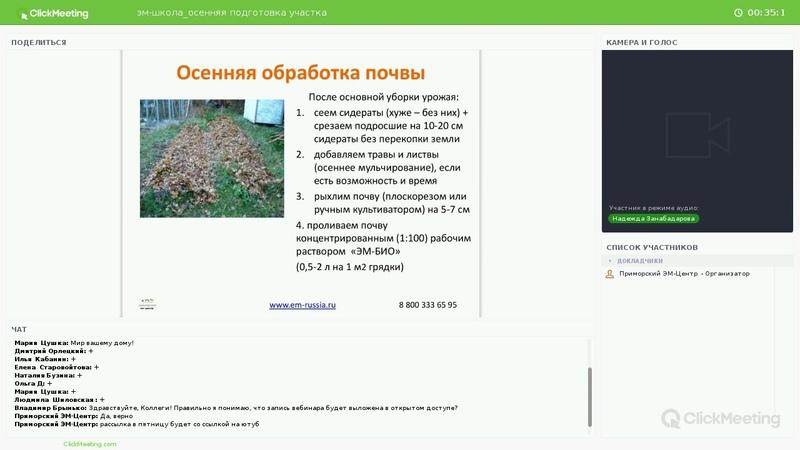 Осенняя подготовка участка (почва, теплица, компост, подвал и пр.)