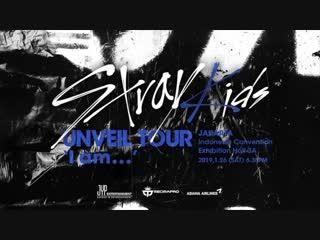 181228 SPOT STRAY KIDS UNVEIL TOUR I am... in JAKARTA @ Mecima Pro
