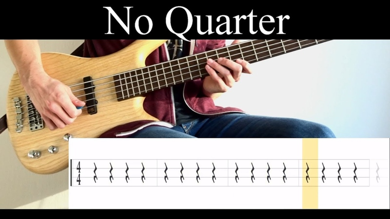 No Quarter (Tool) - Bass Cover (With Tabs) by Leo Düzey