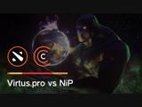 Как Virtus.pro поймала NiP у Рошана