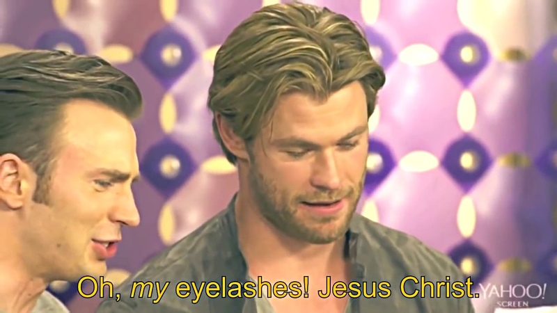 ◀HOT POTATOES▶ Chris Hemsworth, Chris Evans, Liam Hemsworth 어벤져스 크리스 에반스 리암 아이런맨