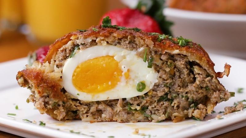 Hash Brown Scotch Eggs