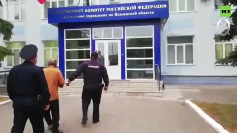 Видео задержания трёх участников конфликта в селе Чемодановка
