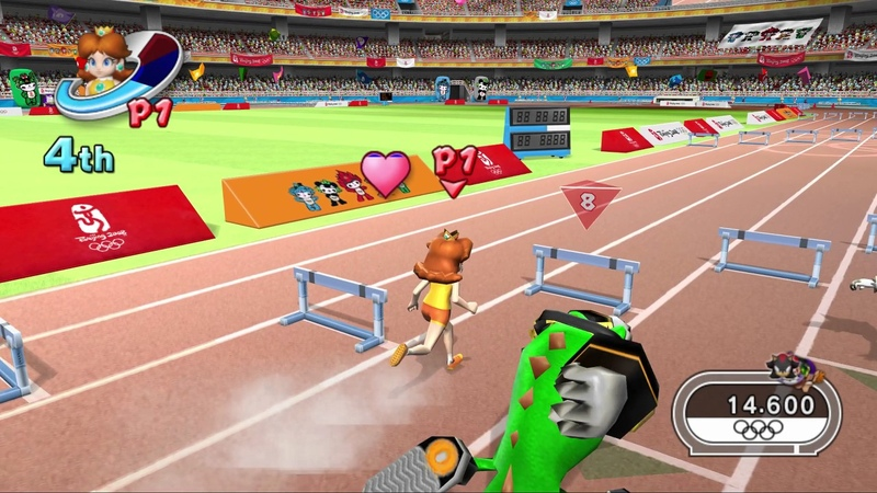 Mario Sonic at the Olympic Games Wii All Events Gold Medal