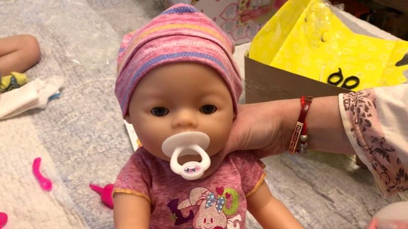 Распаковка Baby Doll (аналог Baby Born)