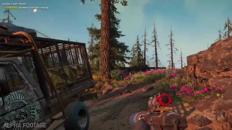 Геймплейное видео Far Cry New Dawn