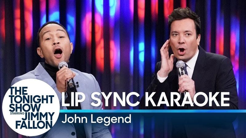 Lip Sync Karaoke with John Legend