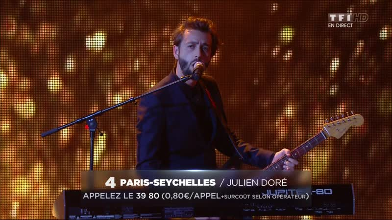 Julien Doré – «Paris-Seychelles» - (Live on 16th NRJ Music Awards 2014)