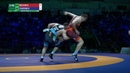 Round 2 FS - 125 kg: A. NELSON (USA) v. K. GHASEMI (IRI)