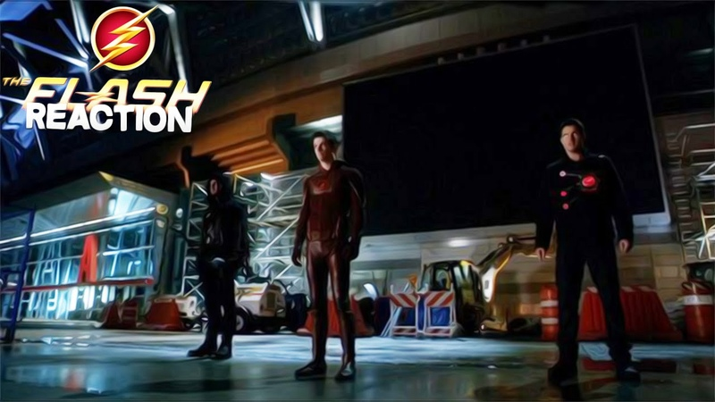 Reaction | 22 серия 1 сезона The Flash/Флэш БОНУС