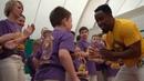 Crua Cinza troca de cordas em Belgorod 2019 AXE Capoeira