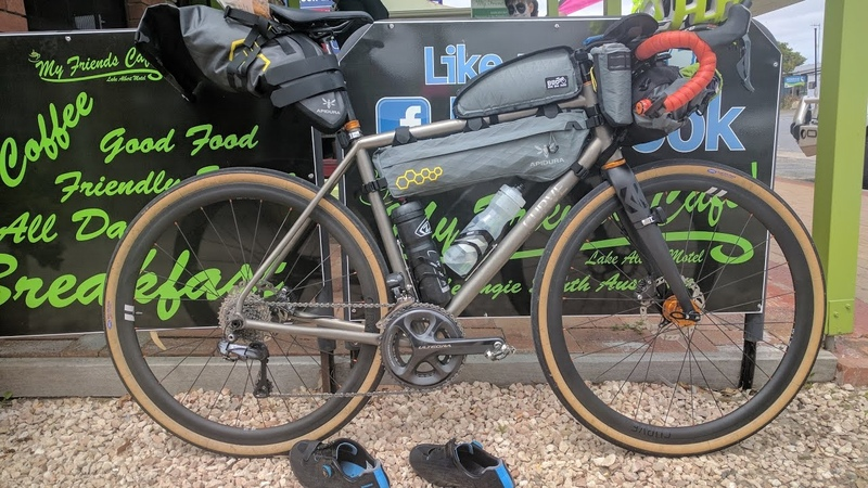 Bikepacking setup for the Indian Pacific Wheel Race - Curve Belgie Spirit