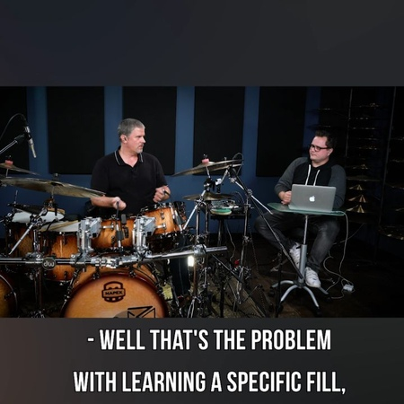 "Online Drum Lessons on Instagram: ""Wise words from Russ Miller. Catch his full session on our YouTube channel. @rmisticks"""