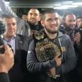 Чемпион UFC Хабиб Нурмагомедов (Barnaul22)