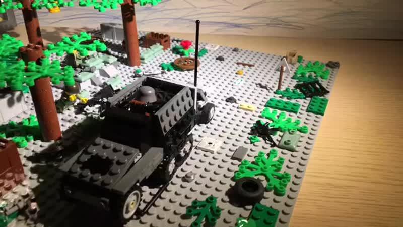 Лего анимация ВОВ