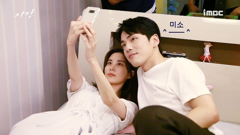 [BTS] Time Ep 23,24 I Seohyun and Kim Jung Hyun Picture Time