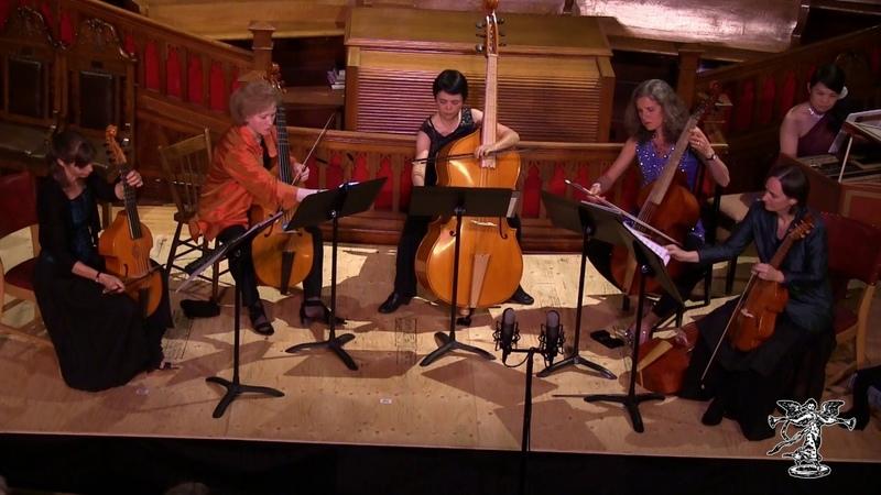 Bach - Passacaglia, BWV 582 (viol consort live unedited)