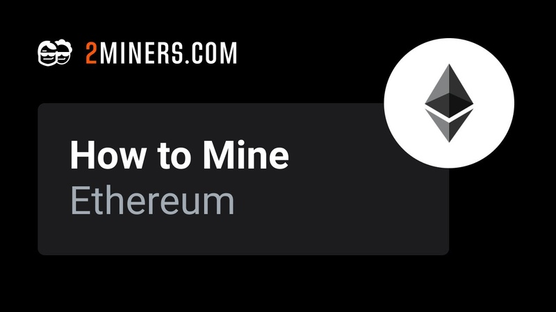 How to Mine Ethereum ETH Mining Pool Setup