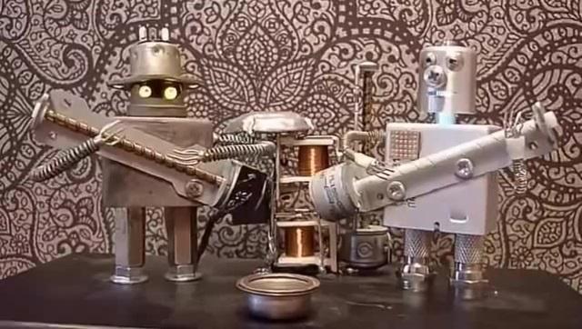 Floppy Music Robo Band Rondo alla Turca
